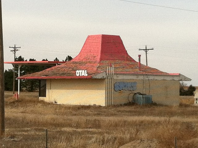 Abandoned Dairy Queen (OTAL) Goodland, KS
