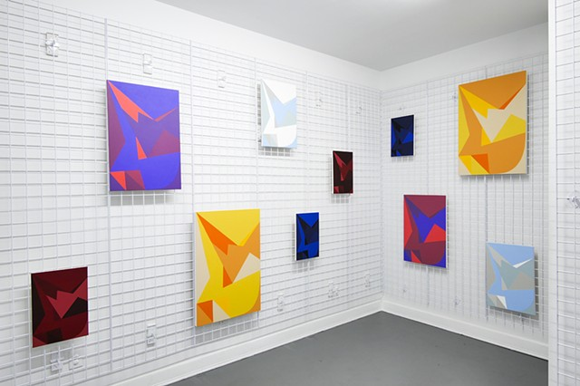 "Installation Photo of ""UP & DOWN"" at Sardine in Brooklyn, June 2017"