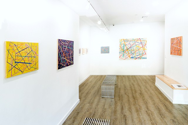 "Installation Photo of ""EVERY DAY""  at One River Art + Designl, Woodbury, NY"