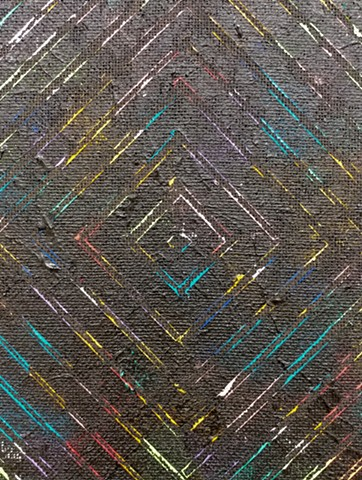 "DETAIL ""Untitled (Concentric Diamond)"""