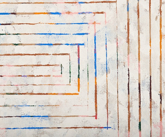 "DETAIL ""Untitled (concentric rectangle)"""