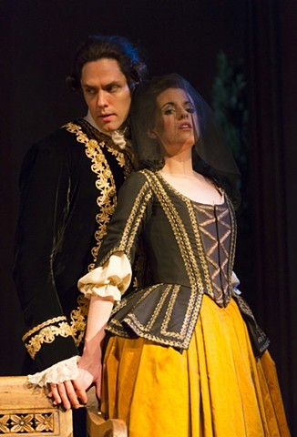 The Count and the Countess as Suzanne