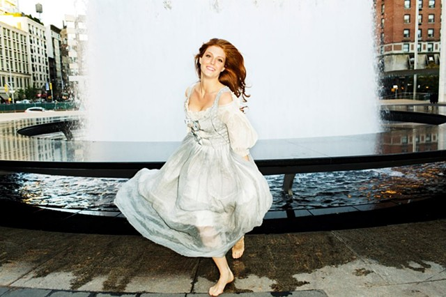 Wallis Giunta in Porter magazine (outtake)