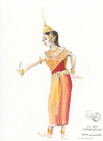 Khmer Ballet dancer