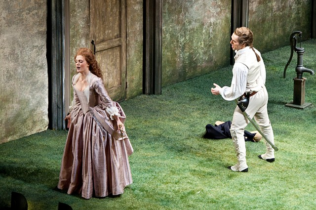 Dorabella and Ferrando in Così fan Tutte, Juilliard School / Metropolitan Opera Lindemann program