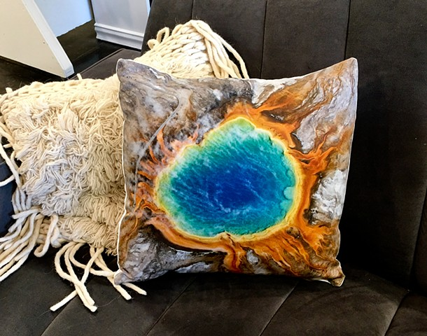 Grand Prismatic Pillow