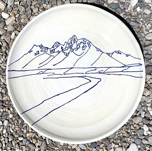 Snake River Overlook Platter