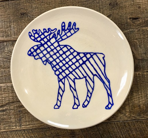 Crosshatch Moose