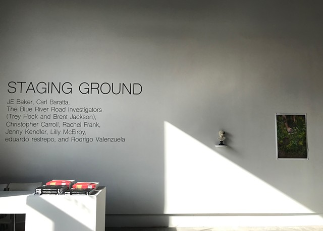Staging Ground: Installation Photograph