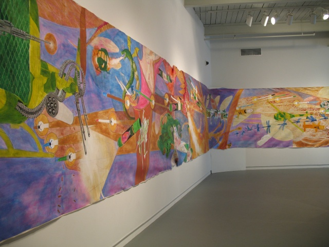 Reign of Fire, installation view