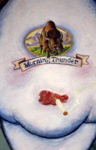 Morning Thunder (detail)