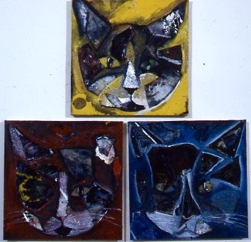 3 Mousketeers (triptych)