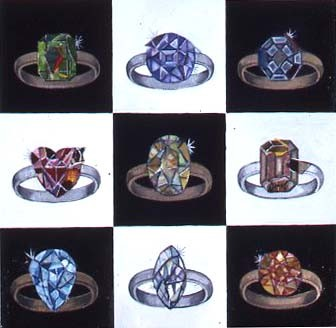 In Honor of Picasso's and Braque's engagement (Ring Cycle)