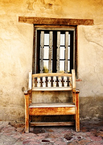 Chair, Mission San Juan Capistrano, 2009