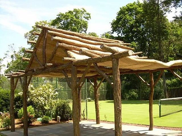 Gazebo | Black Locust Commissioned piece for private grounds at Locust Valley, NY