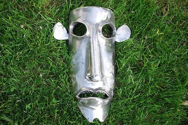 Long Face Steel Mask | SOLD