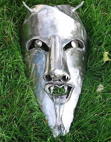Devil's Face Steel & Stainless Steel Mask | AVAILABLE