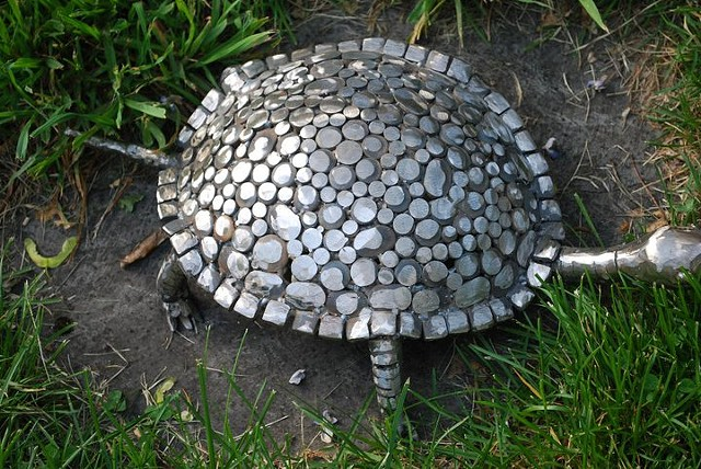Turtle 1 Steel Mosaic | AVAILABLE