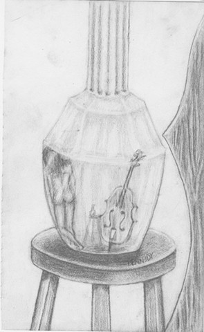 Lady in a Bottle Pencil | AVAILABLE