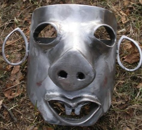 Pig Face Steel Mask | AVAILABLE