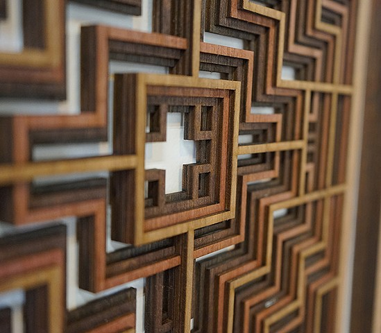 Geometric Lasercut Sculpture