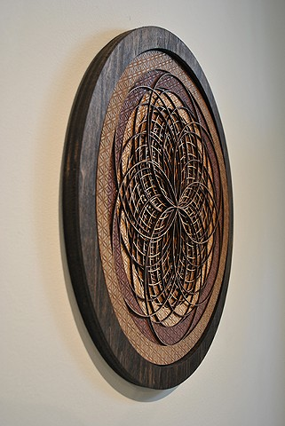 Flower of Life Sacred Geometry Lasercut Sculpture