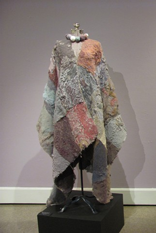 Wearable art,cloak, laundry, lint, women