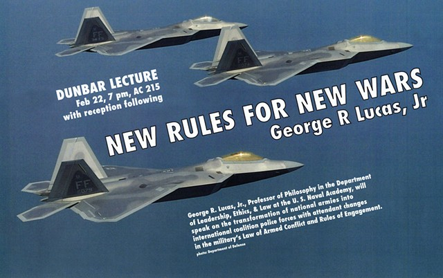 Poster for Dunbar Lecture at Millsaps College