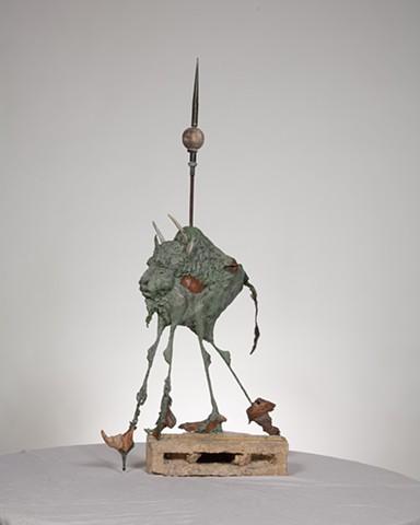 "Buffaloed ""with apologies to Dali"", 2011"