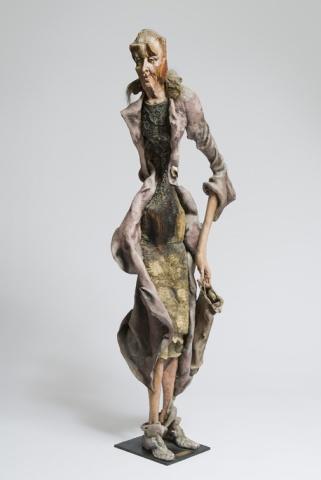 Bag Lady of Geneva, 1984 (Goes by Bag Lady)