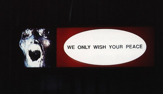We only wish your peace, 1992, (1)