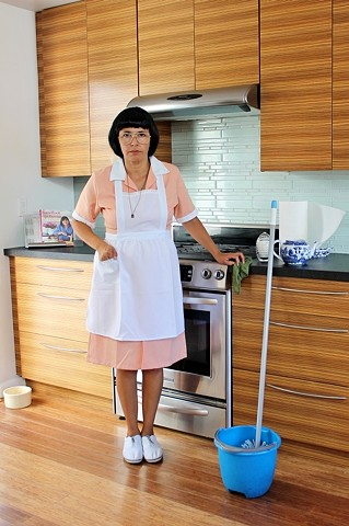 Rosa Hernandez. La Chacha  (the cleaning lady)