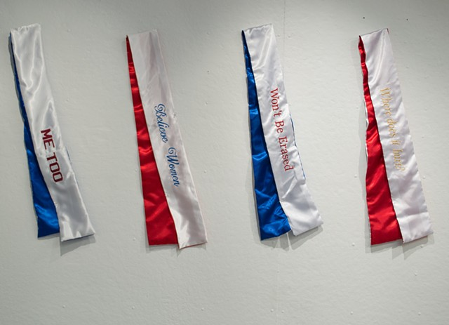 Protest Sashes