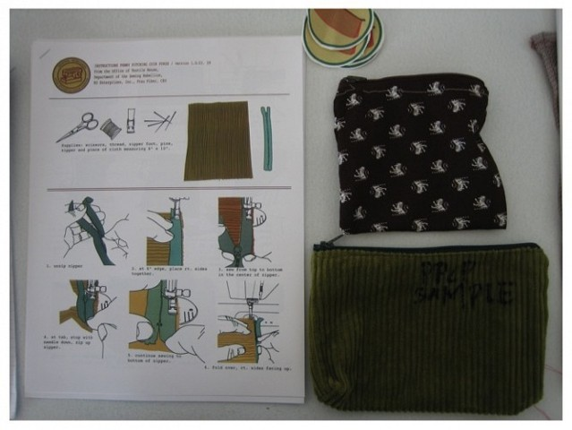 Penny Pinching coin purse instructions