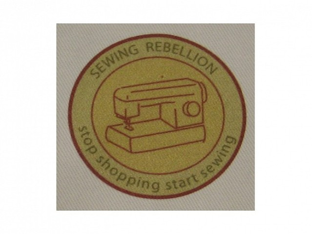 sewing rebellion patch