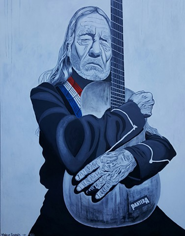 willie nelson (commissioned by MADE restaurant in sarasota, FL)