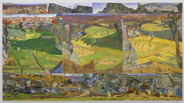 elizabeth flood painting quarry