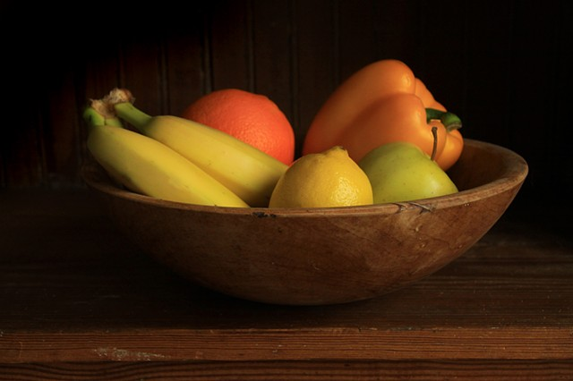 """Still Life with Orange"", Ben Russell"