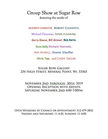 Group Show at Sugar Row