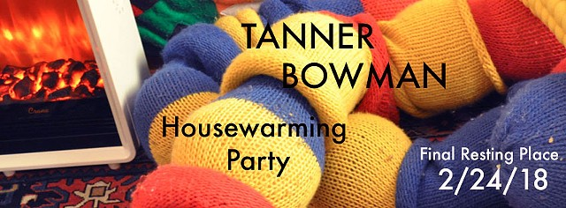 Housewarming Party- A scavenger hunt and art show by Tanner Bowman
