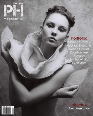 PH Magazine cover On the Cover: Model Anya She; Photographer Francis A. Willey In this Issue we look at the art of portrait photography.