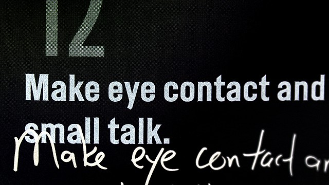 Lesson 5 (Timothy Snyder): Make Eye Contact