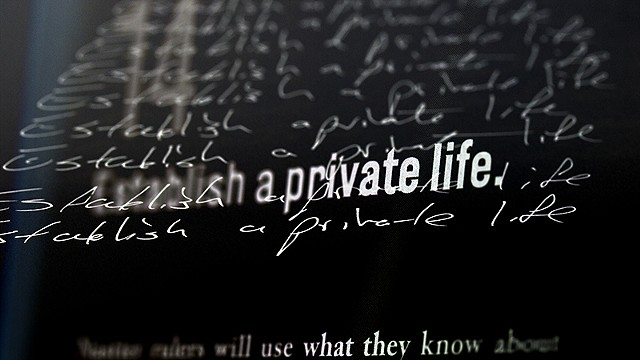 Lesson 5 (Timothy Snyder): Private Life