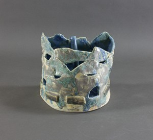 ceramic, Holly Holmes, blue boat