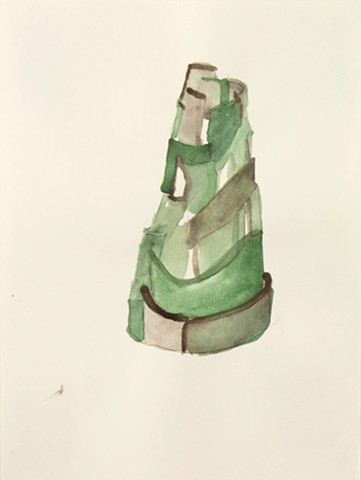 Study for clay, Green