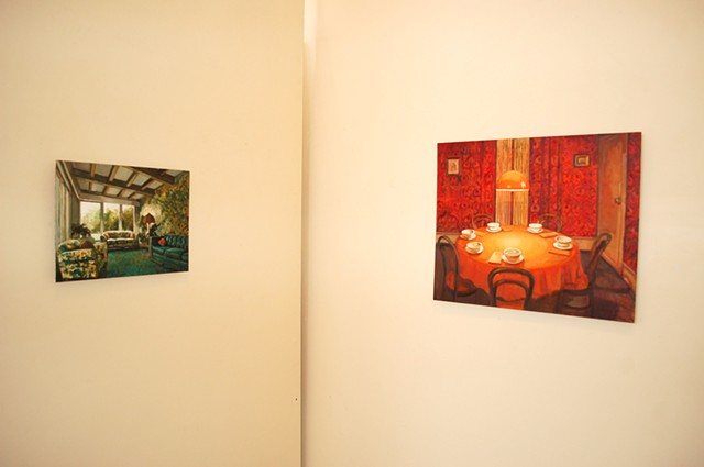 Installation Photograph Saigon Seance (Right Side) SOLD