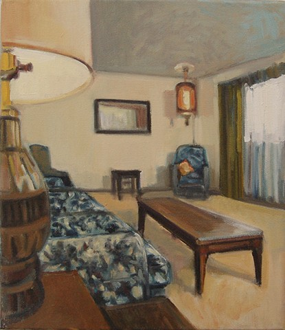 Interior in Blue SOLD