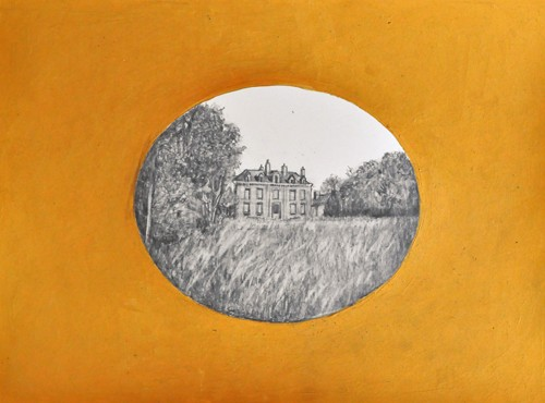 Paris Suite Drawing 11 Manor House SOLD