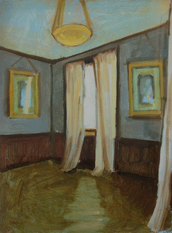 Study for White Curtains
