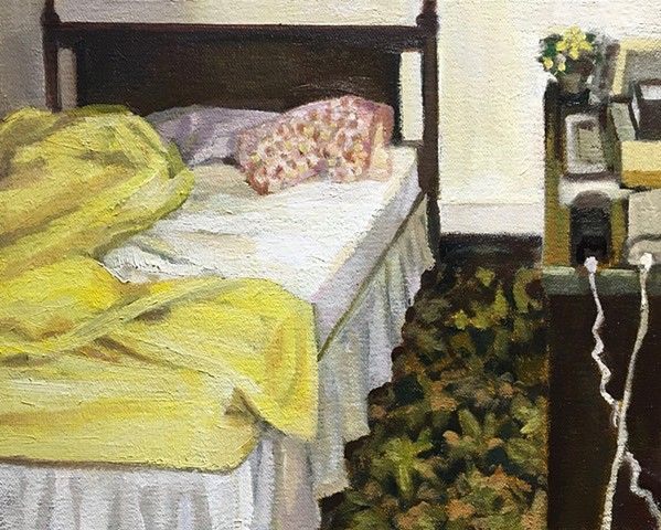 The Yellow Bedspread SOLD